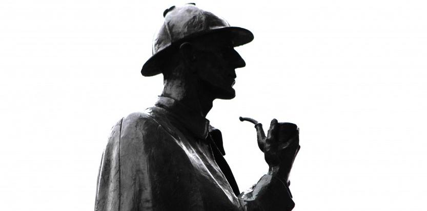 La statue de Sherlock Holmes à Londres (MANUEL COHEN/AFP)
