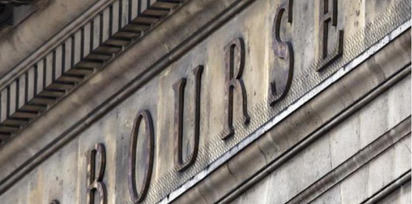 L'ancienne Bourse au Palais Brongniart à Paris  (c) Afp