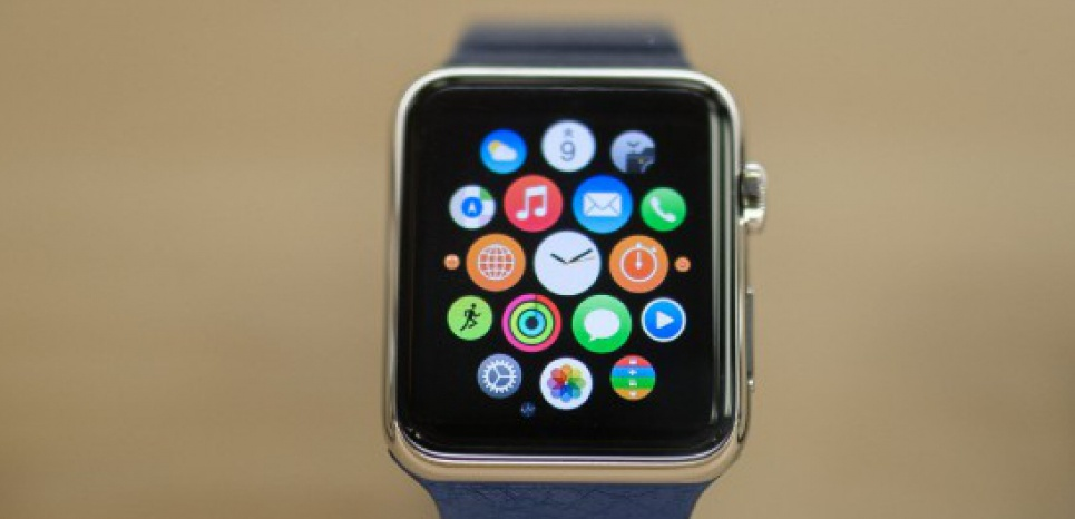 L'Apple Watch, commercialisée en France depuis le 24 avril. © DATICHE NICOLAS/SIPA