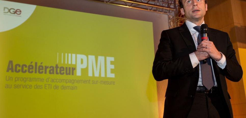 Emmanuel Macron, le 5 mars 2015 ROMUALD MEIGNEUX/SIPA