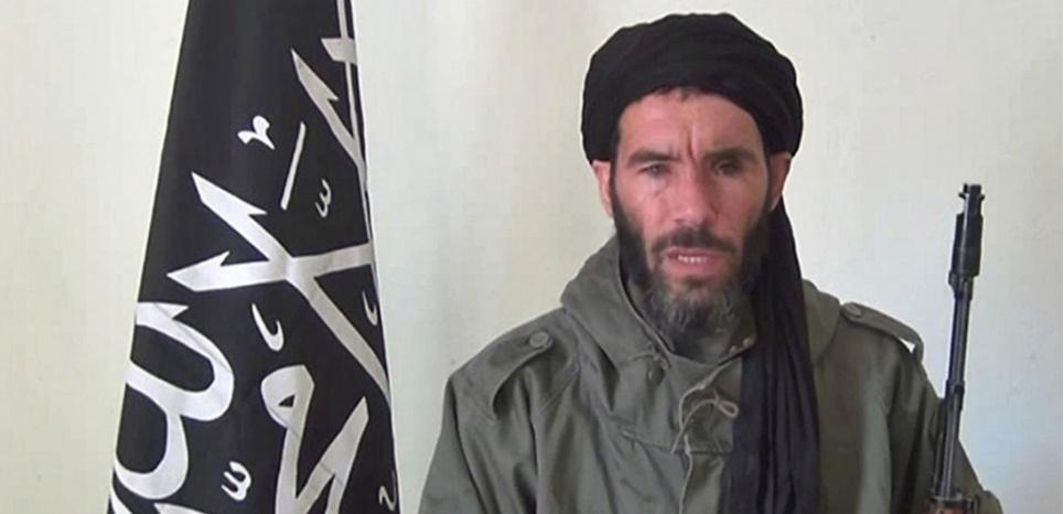 Le terroriste Mokhtar Belmokhtar (HO / ANI / AFP)