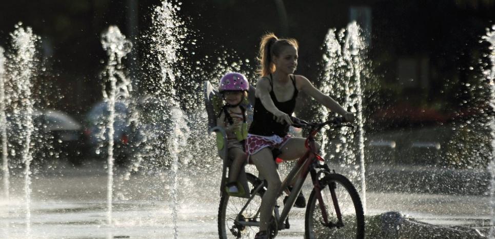 Pratiquer un exercice physique entraîne notamment un afflux de sérotonine dans le cerveau. © CRISTINA QUICLER / AFP