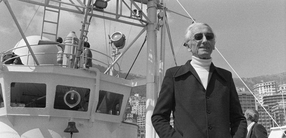 Le Commandant Jacques-Yves Cousteau s'est éteint le 25 juin 1997, après plus de 50 ans d'exploration océanographique. (ERIC GAILLARD/AFP)