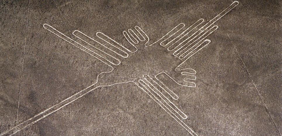 L'un des célèbres géoglyphes de Nazca. ©Superstock/ Superstock/ sipa