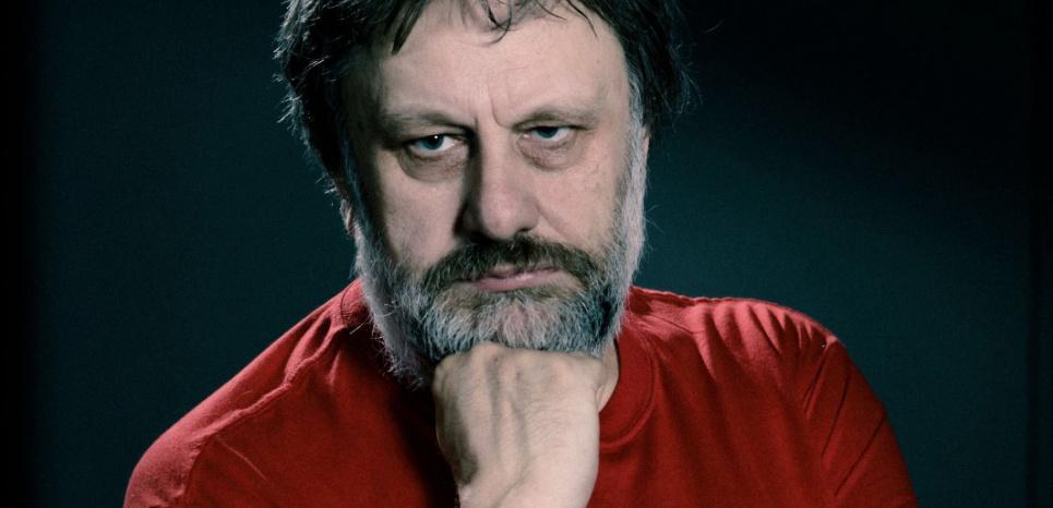 Le philosophe slovène Slavoj ZIZEK. (©CRC Robert / SIPA)