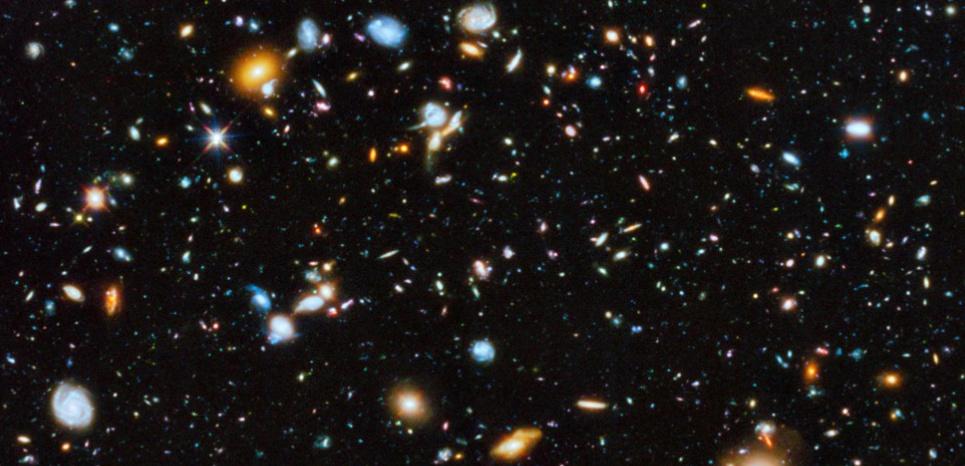 Photo de l'Agence spatiale européenne représentant l'univers. (ESA/HUBBLE / AFP)