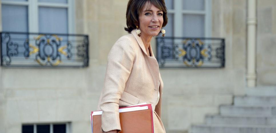 Marisol Touraine à l'Elysée BERTRAND GUAY / AFP