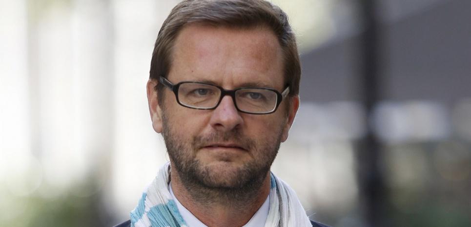 Jérôme Lavrilleux, le 9 octobre 2015 (FLORIAN DAVID / AFP)