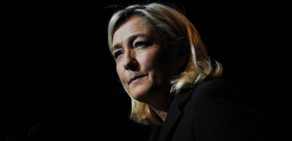 Marine Le Pen, la présidente du Front national, en 2014. (SYLVAIN THOMAS / AFP)