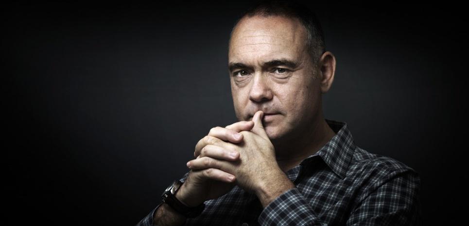 """Christophe Boltanski a reçu le prix Femina le 4 novembre pour son livre """"La Cache"""". (JOEL SAGET / AFP)"""