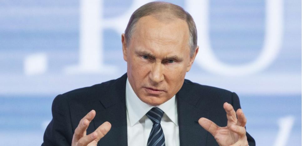 Vladimir Poutine, le 17 décembre à Moscou. (Alexander Zemlianichenko/AP/SIPA)