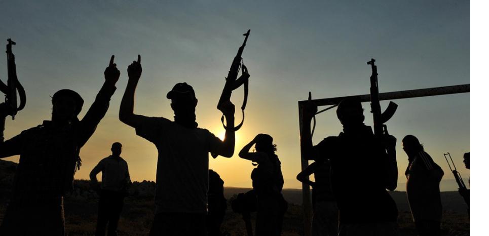 Deux djihadistes présumés ont été arrêtés en Grèce. (Bulent Kilic/AFP)
