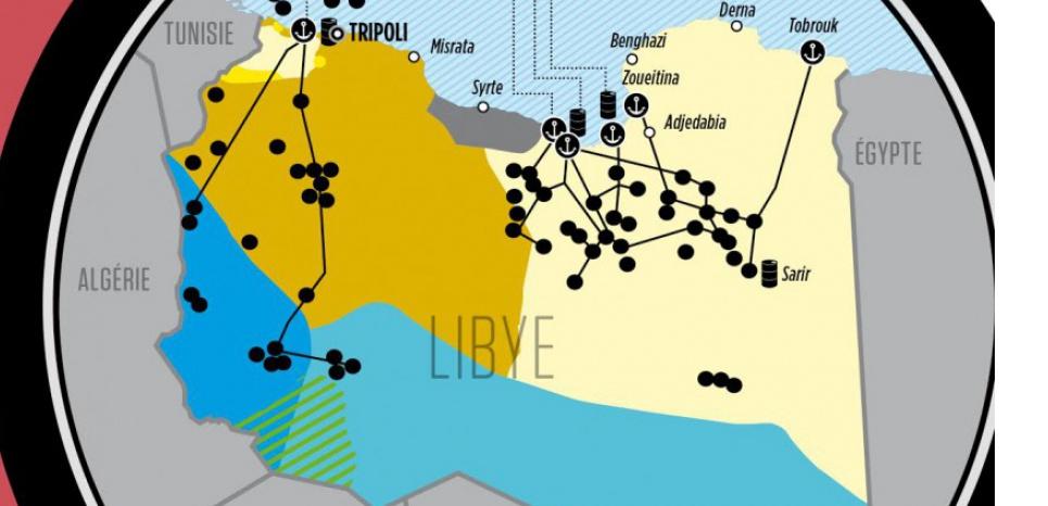 La Libye, cinq ans après la chute de Mouammar Kadhafi. (Mehdi Benyezzar - L'Obs)