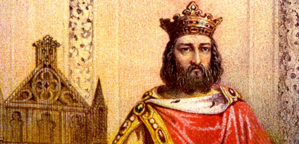 Charlemagne (742-814), Roi des Francs, petit fils de Charles Martel, dynastie des Carolingiens. Gravure de la fin du 19e, debut du 20e. ©ABECASIS/SIPA