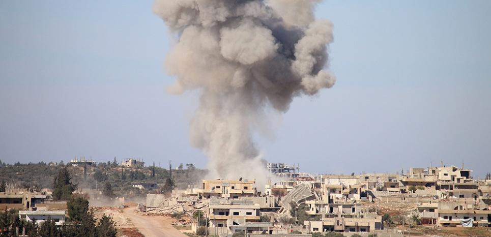 Dans la région de Deraa dans le sud de la Syrie. (Photo d'illustration) (MOHAMAD ABD ABAZID / AFP)