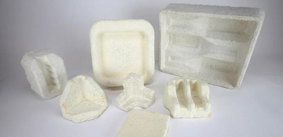 Ces emballages fabriqués à partir de champignon peuvent remplacer le polystyrène. Ecovative