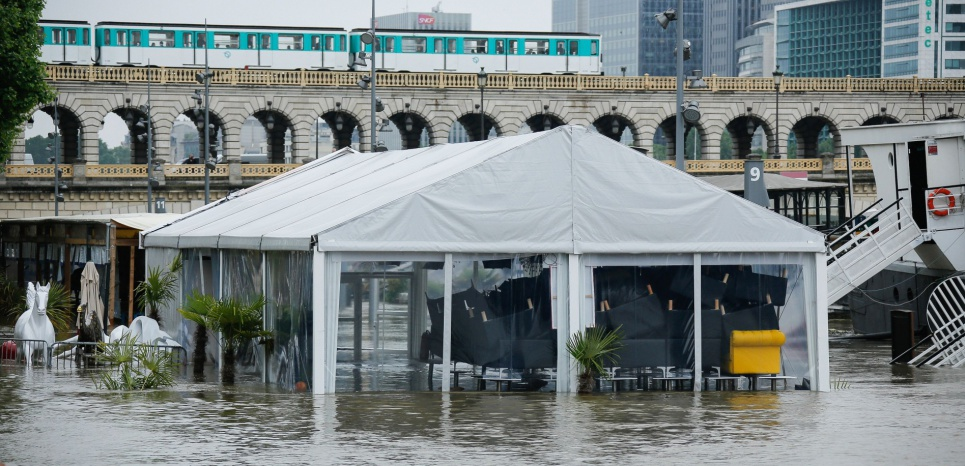 Si le métro parisien était submergé par les eaux : le scénario du pire