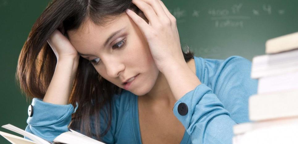 Les personnes atteintes du trouble du déficit de l'attention avec ou sans hyperactivité rencontrent des difficultés à se concentrer. © PURESTOCK/SIPA