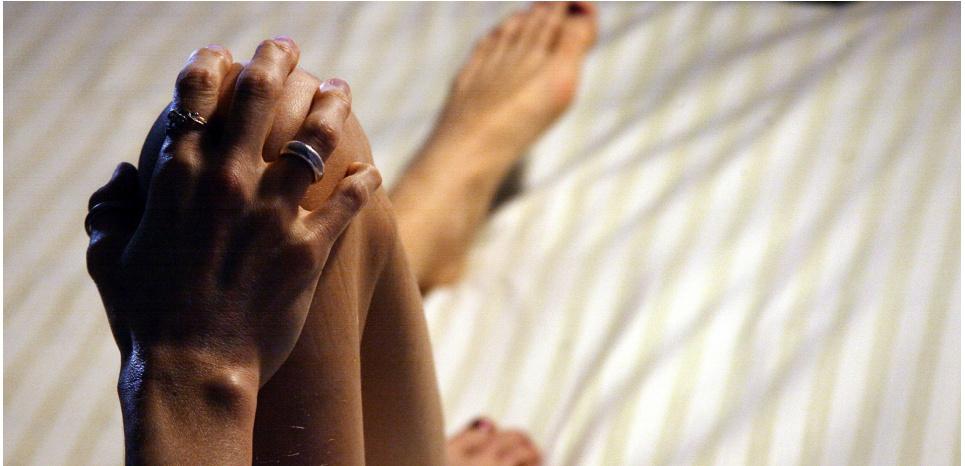 L'anorexie est un trouble du comportement alimentaire qui touche surtout les jeunes filles. ©JOEL SAGET / AFP