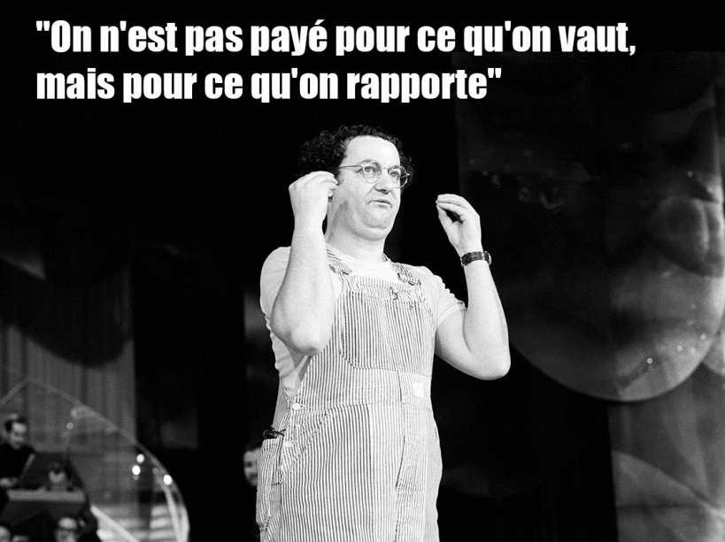 PHOTOS. Citations de Coluche