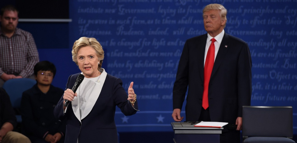 Ce qu'il faut retenir du 2e débat entre Trump et Clinton