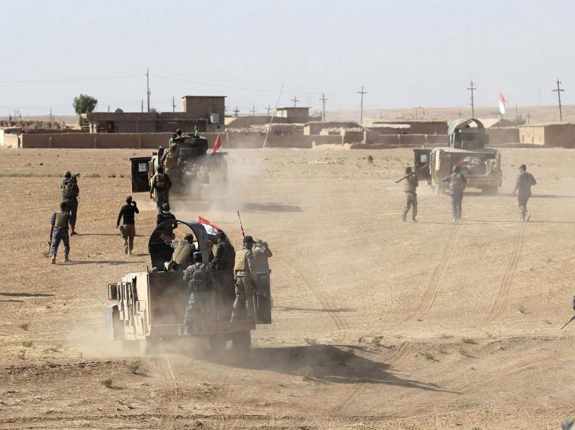 PHOTOS. Bataille de Mossoul : la libération des premiers villages a commencé