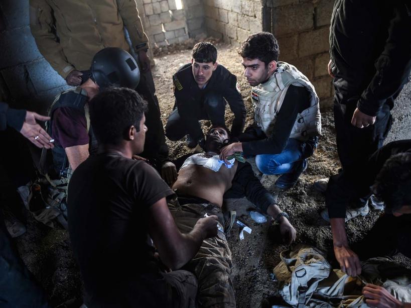 PHOTOS. L'armée irakienne se rapproche de Mossoul