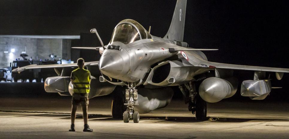 En deux ans, l'aviation française a largué 1.600 bombes et missiles sur Daech