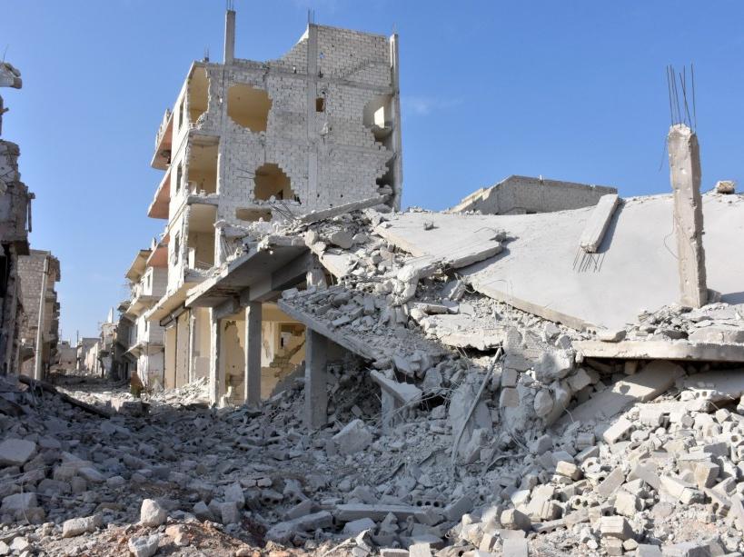 PHOTOS. Bachar al-Assad écrase Alep dans le sang