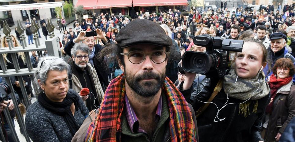 Cédric Herrou devant les juges pour avoir aidé des réfugiés