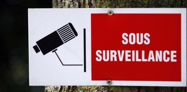 Panneau d'une caméra de surveillance (CHAUVEAU/SIPA)