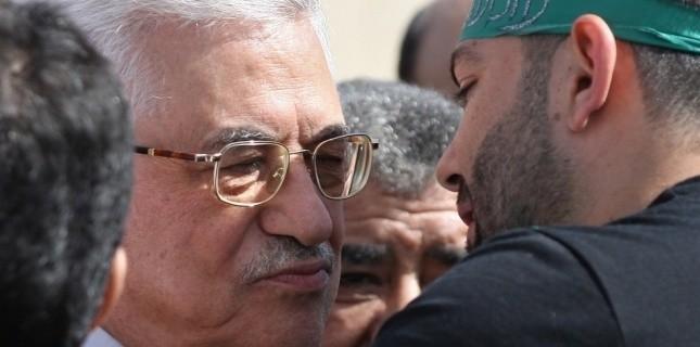 Mahmoud Abbas à Ramallah, le 18 octobre 2011 (AFP PHOTO/ABBAS MOMANI)