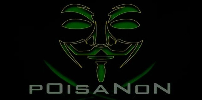 "Message du groupe ""p0isAnon"", fusion des Anonymous et des hackers de TeaMp0isoN (Capture d'écran)"