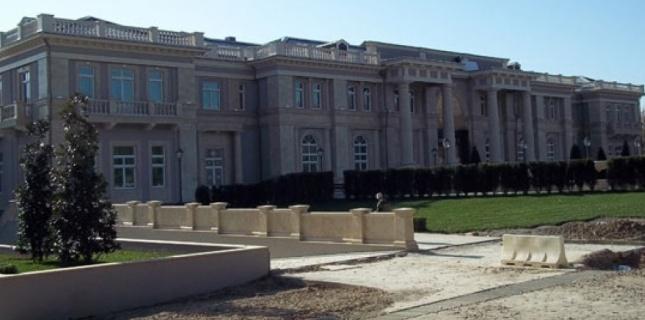 Vue du palais de Poutine