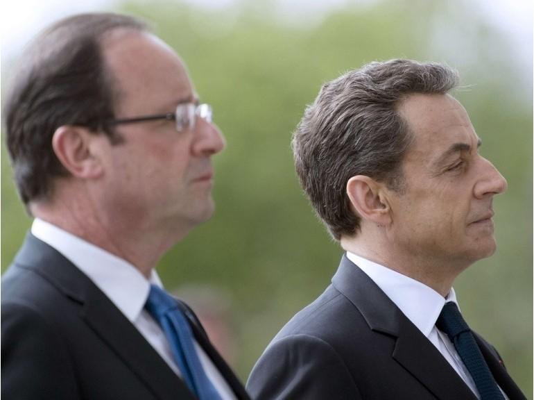 Sarkozy et Hollande