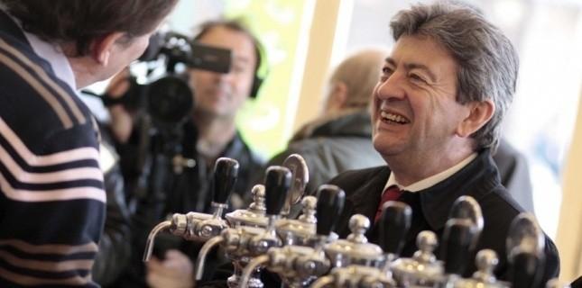 """Jean-Luc Mélenchon se sent """"le plus adapté"""" pour la 11e circonscription (BAZIZ CHIBANE/SIPA)"""