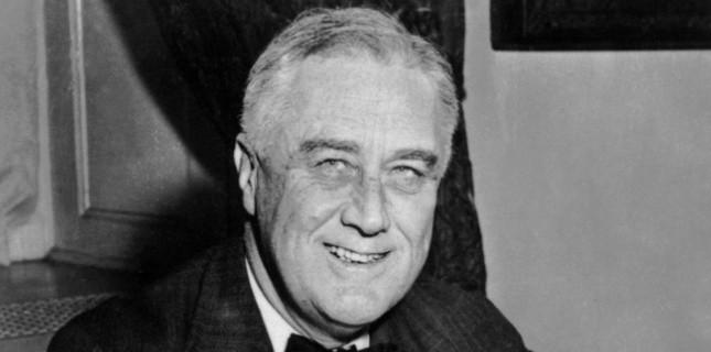 Franklin Delano Roosevelt, en 1930 à la Maison Blanche. (AFP)