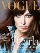 Carla Bruni en couv' du Vogue Paris La couverture du Vogue Paris Noël : Carla Bruni en invité d'honneur