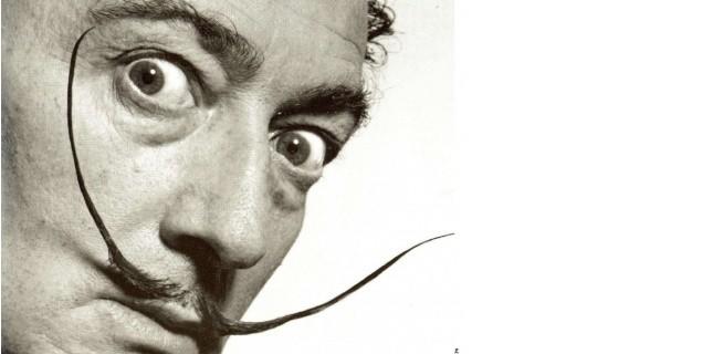 Salvador Dali, l'homme à la moustache farceuse. (AP/SIPA)