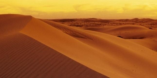 Des dunes dans le désert. SUPERSTOCK/SUPERSTOCK/SIPA