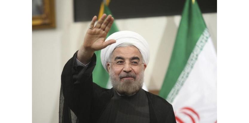 Le président élu iranien Hassan Rohani a promis de coopérer étroitement avec le parlement pour limiter les luttes internes qui opposaient jusqu'ici le pouvoir législatif au pouvoir exécutif. /Photo prise le 17 juin 2013/REUTERS/Fars News/Majid Hagdost<br /><br /><br /><br /><br /> (c) Reuters