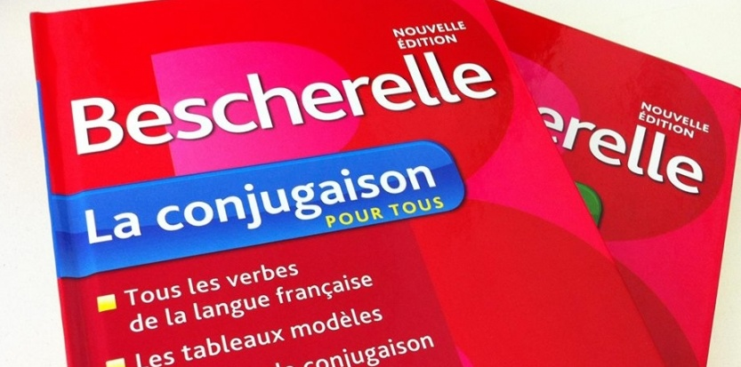Bescherelle ou la grâce des verbes improbables, le merveilleux des règles arbitraires de conjugaison. (DR)