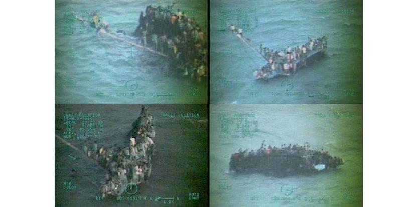 Une trentaine d'immigrants haïtiens sont morts et 110 autres ont été secourus lorsque leur voilier a chaviré au large des côtes de Staniel Clay dans l'archipel des Bahamas, ont annoncé les gardes-côtes américains mardi.(c) Afp