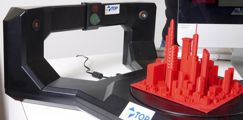 Impression en 3D dans un magasin Top Office Top Office