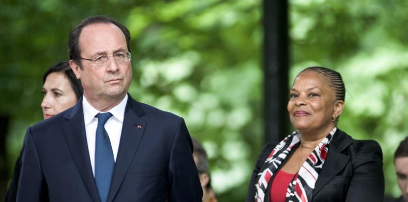 """La garde des Sceaux a été convoquée par le président mercredi 28 mai. Il lui a reproché son """"manque de loyauté"""". (SIPA)."""