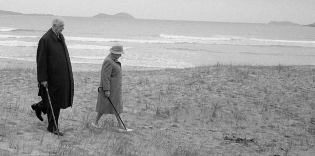 Mai 1969 : Charles et Yvonne de Gaulle en Irlande. (Photo LE CAMPION/SIPA) (LE CAMPION/SIPA)