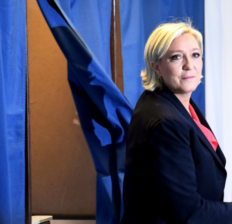 Législatives : Marine Le Pen, la planquée