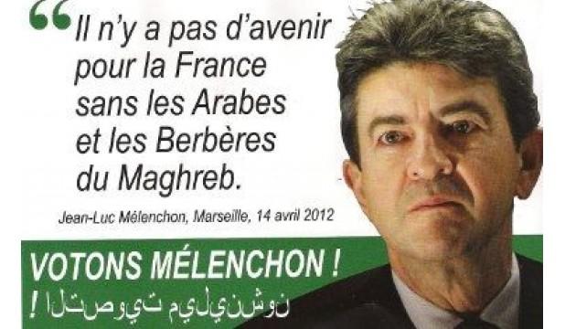 Faux tract de Jean-Luc Mélenchon distribué dans les rues d'Hénin-Beaumont