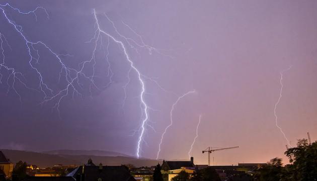 La foudre des orages