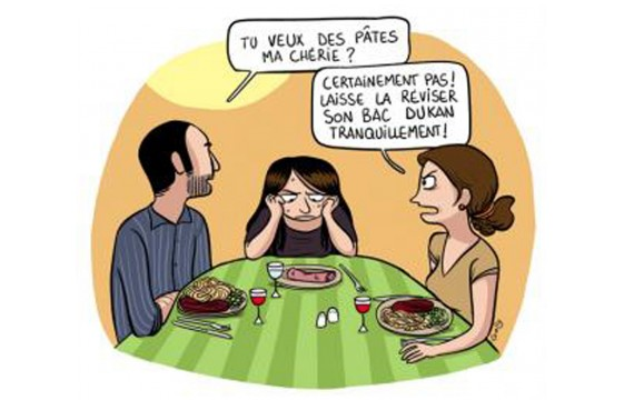 Option Dukan au Bac ? (Gally)